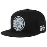 Snapback 32 Point Compass Rose Patched Baseball Cap