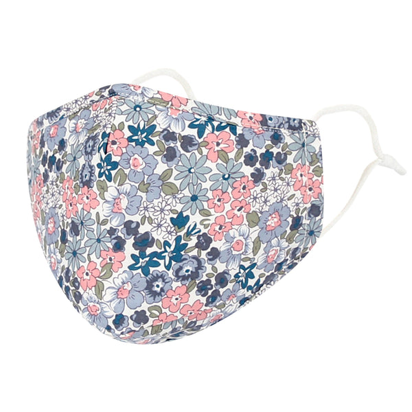 Cotton Face Floral Bandana Filter Pocket Multiple Layers