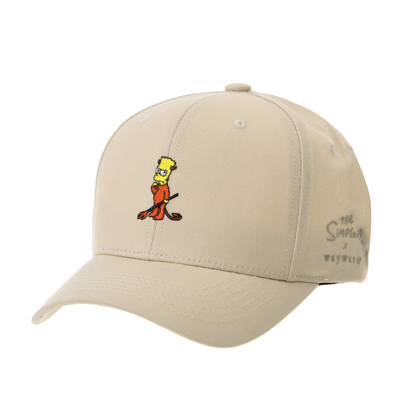 The Simpsons Baseball Cap Bart Simpson Red Devil Hat