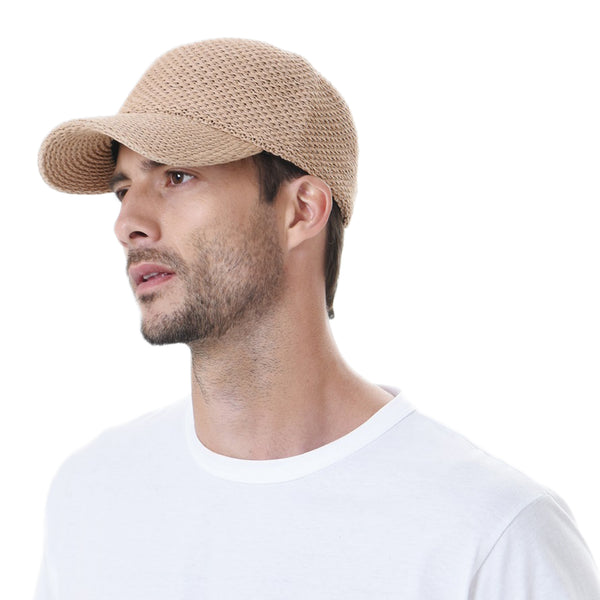 Baseball Cap Summer Cool Paperstraw Cotton Mesh Ballcap For Men Women