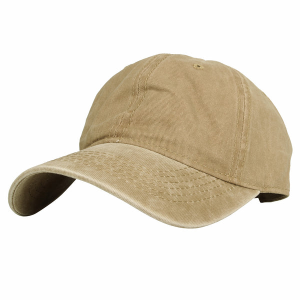 Cotton Baseball Cap Pigment Dyed Low Profile Hat
