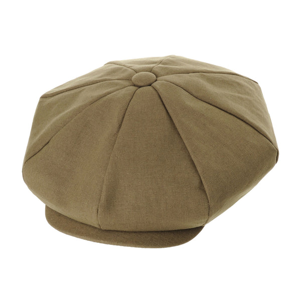Cotton Baker Boy Flat Cap Monochrome Beret Ivy Hat