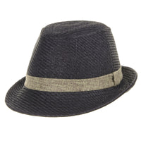 Fedora Hat Summer Cool Straw Pastel Color
