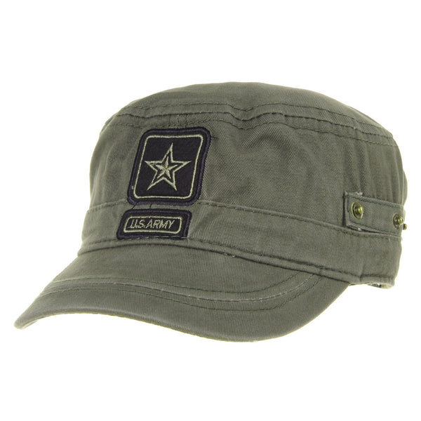 Cadet Cap Camouflage US Army Star Embroidery Hat