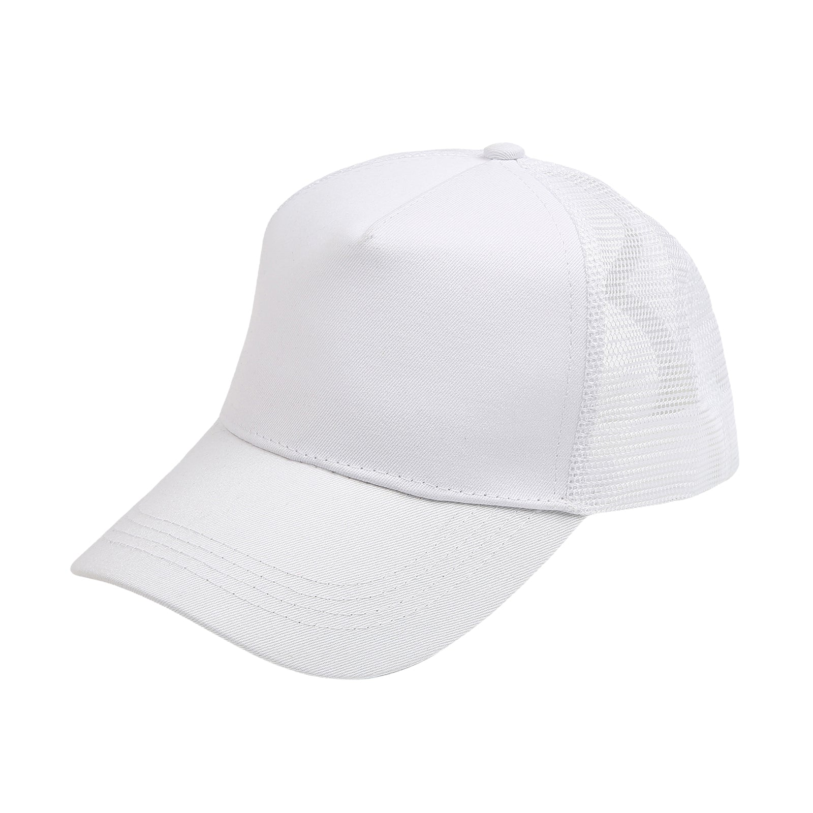 Ponytail High Bun Hat Ponycaps Cotton Baseball Cap
