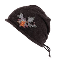 Winter Knit Beanie Hat Slouchy Women Warm Ear Flaps