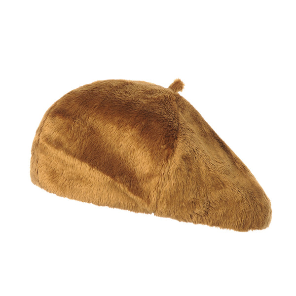 Beret Hat Soft Faux Fur Warm Winter French Style