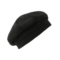 Wool Beret Hat French Winter Women Beanie Chic Cap