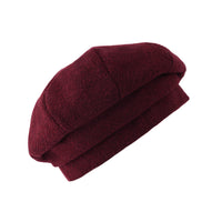 Wool Beret Hat French Winter Women Beanie Chic Cap SLF1296