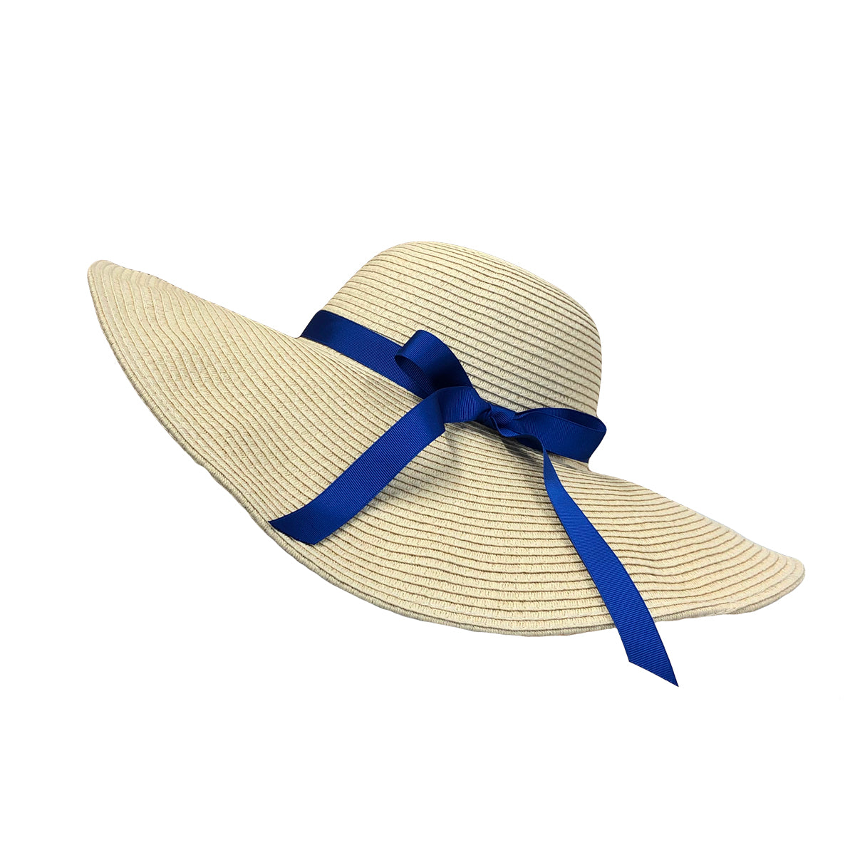 Women Straw Sun Hat Wide Brim Floppy Beach Cap UPF 50+