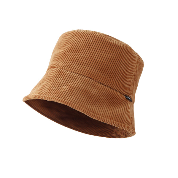 Corduroy Bucket Cotton Hat Travel Beach Outdoor Cap