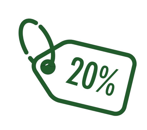 icon 20% of coupon