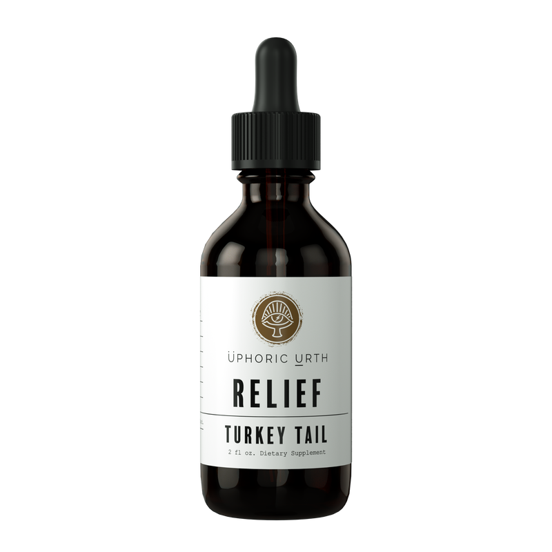 RELIEF - Turkey Tail - Double Extracted Tincture