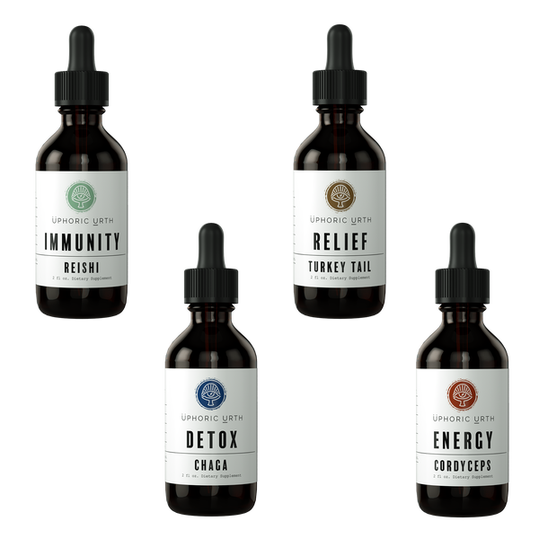 Immune-Boosting Bundle - Double Extracted Mushroom Tinctures