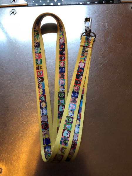 Pop'n Music Lanyard