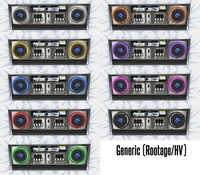 Customizable IIDX Deck Dakimakura Pillow Case (Double Sided)