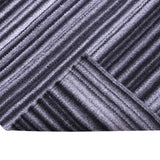 Black and Grey, Stripe Pattern, Flat, PEQURA Rug