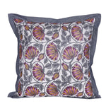 Multi-Color Floral Printed Cushion Cover