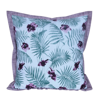 Beautiful Home Floral Patterned Cotton Cushion Cover