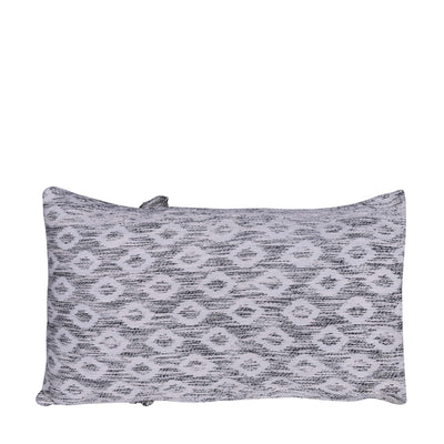 Black & White Abstract Rectangle Cushion Cover