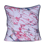Designer Red & Blue Printed Cushion Cover