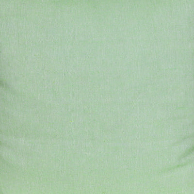 Plain Reversible Red Border Green Texture Cushion Cover - Set of 2 Pcs
