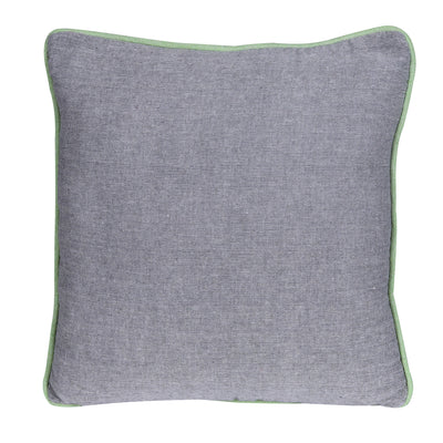 Natural Plain Reversible Cotton/Wool Cushion Cover - Set of 2 Pcs