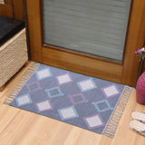 PEQURA Multicolor Cotton Floor Covering Mughal Rug/Runner/Door Mat