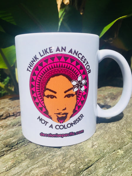 Decolonise Pacific Mugs