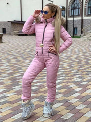 New Arrivals Cotton Warm One-Piece Ski Suit