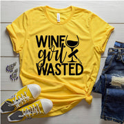 WINE GIRL WASTED T-shirt