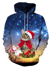 Fashion Christmas Sweater 3D Printing Couple Sweatshirt