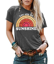 You Are My Sunshine Rainbow T-shirt