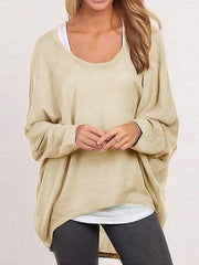 Loose Tshirt Multiple colors Casual Knitting Sweater