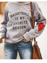 Basketball Is My Favorite Season Sweatshirt