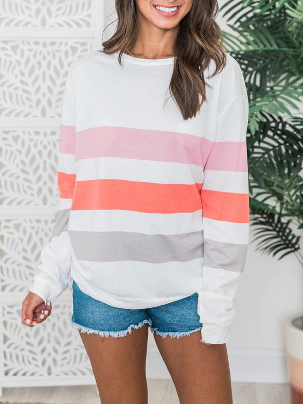 Sweet Color Pullover T-shirt