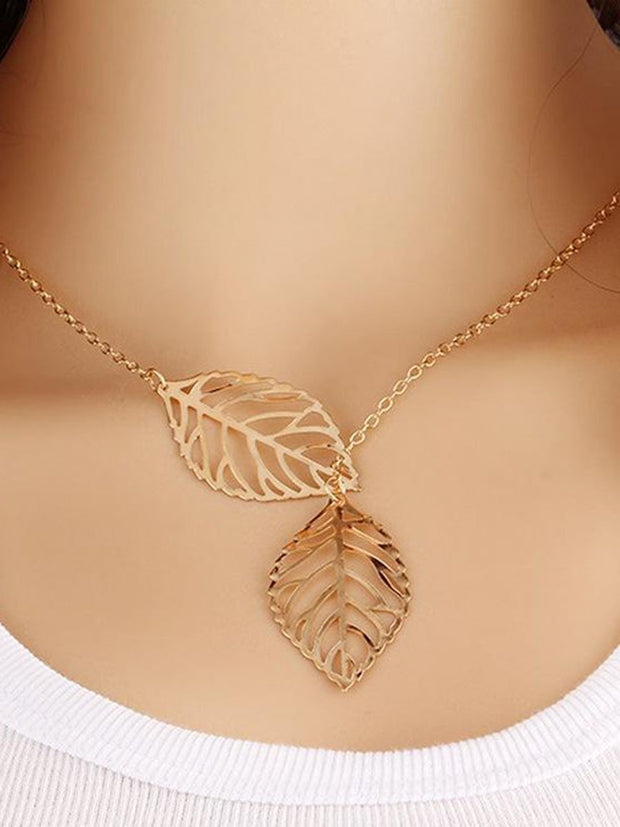 Leaves Pattern Refreshing Necklace