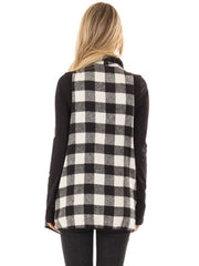 Women's Fashion Loose Plaid Cardigan
