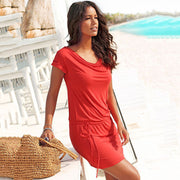 Belted Beach Dress