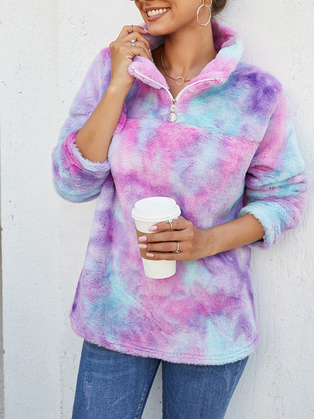 Gradient Velveting Sweatshirt