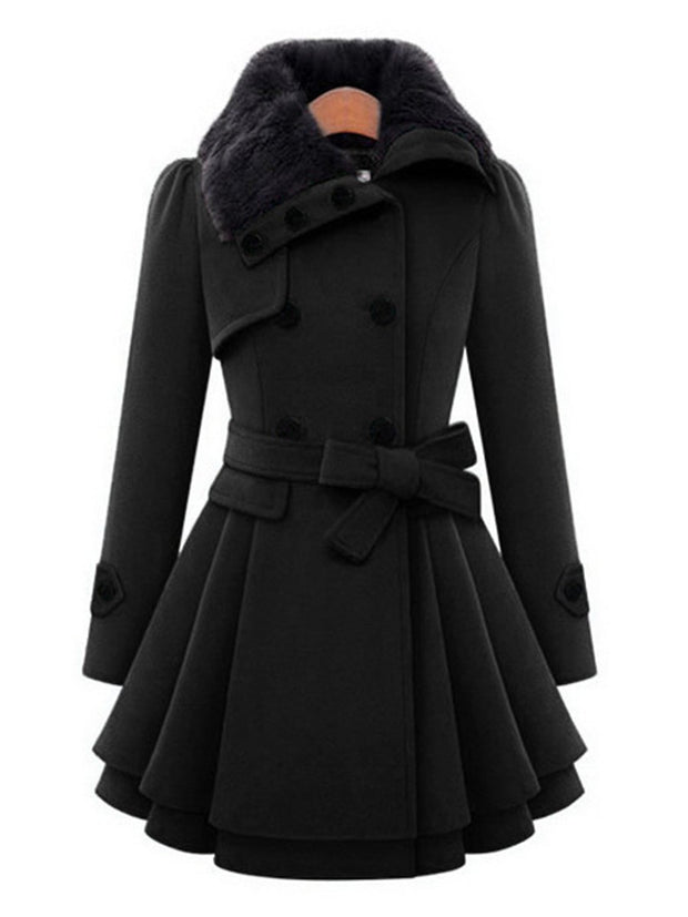 2019 Autumn/Winter Trendy Long Woolen Coat