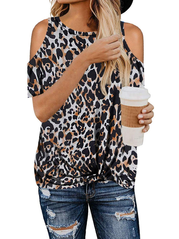 Casual Style Leopard T-shirt