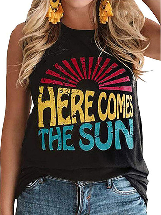HERE COMES THE SUN Tank Top