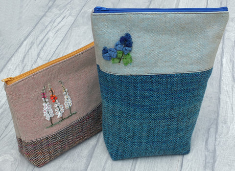 floral summery bags