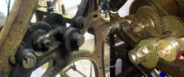 gears before and after