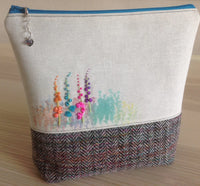 Knitting / Crochet / Notions / Crafty Project Bag with LIBERTY LAWN pocket  SOLD OUT