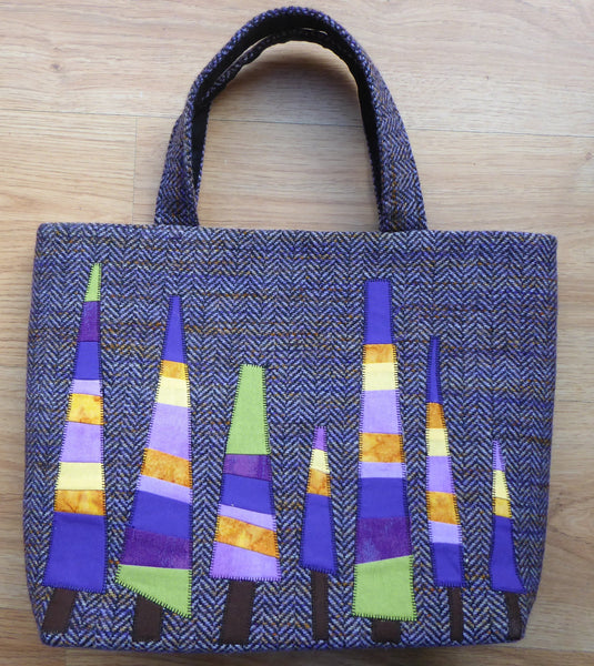 Tree Tweed Tote Bag