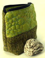 Small wattle green project bag
