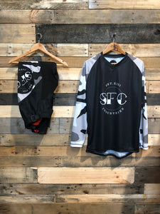 SFC INDUSTRIES GREY CAMO MX JERSEY