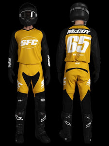 SFC INDUSTRIES 2020 COLLECTION MUSTARD BASE MX JERSEY